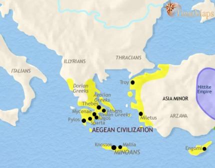 Península Ibérica - 1500 a.C.